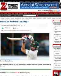 India vs Australia Live Day: Zee News